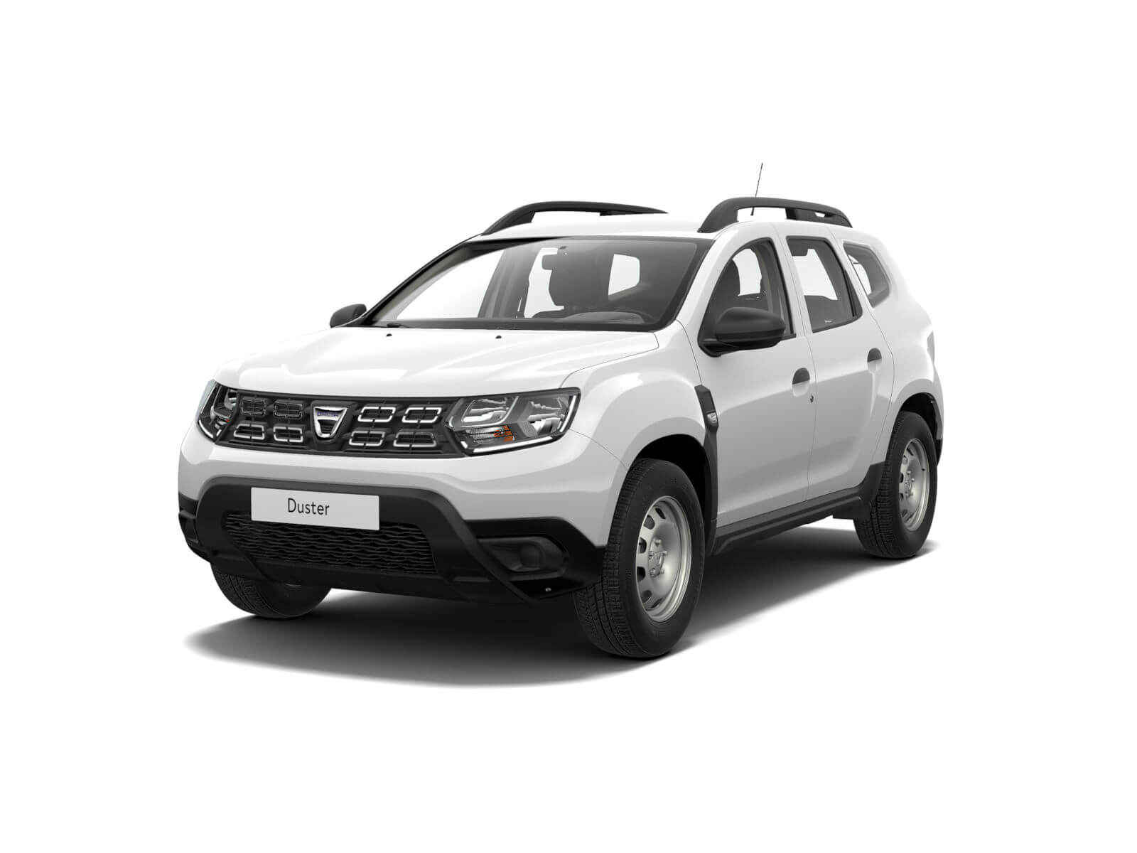 Renault Duster – Ледниковобял